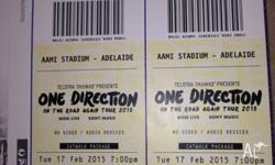 I have 2 Cat walk package tickets for the Adelaide one