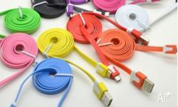 1M Colourful Micro USB Data Sync Flat Cable for Samsung