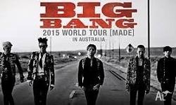 BigBang 2015 Concert in Sydney 18th October, 5PM at