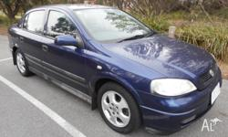 2000 Holden astra CD olympic edition with full service