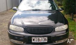 2000 WH statesman, auto, v6, black, recently serviced,