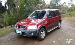 For sale Honda CRV, 4wd, power steering, power windows,