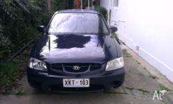 2000 Hyundai Accent Hatchback - Automatic Currently