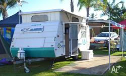 2000 Jayco Freedom Caravan for hire Hire fees are $70
