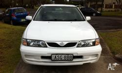 here for sale i am selling my nissan pulsar lx n15