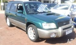 TOP CONDITION TURBO GT FORESTER. MANUAL TRANSMISSION,