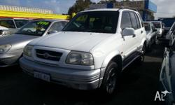 2000 Suzuki Grand Vitara Features: 2L, 4 Cyl, 5 Speed