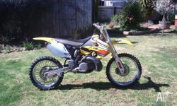 Late 2000 model Suzuki RM 250,10 hours riding since