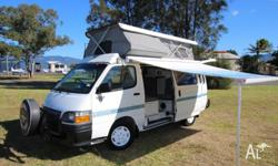 2000 Toyota Hiace Automatic campervan with only