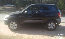 Hi there. I'm selling my lovely 2 doors RAV4 in black