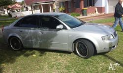 2001 audi a4 dent in bonet and front bumper doesnt sit