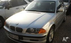 2001 BMW 320I E46 Silver 5 Speed Auto Steptronic Sedan