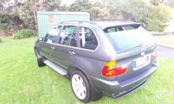 BMW X5 2001 4.4 v8 In very good condition inside and