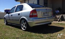 $4600 2001 holden Astra 12 months reg Manual 130***ks
