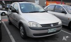 2001 Holden Barina XC Silver 5 Speed Manual Hatchback