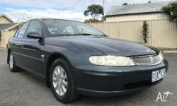 2001 Holden Berlina VX Grey 4 Speed Automatic Sedan