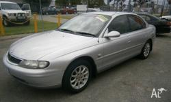 Series II supercharged Holden V6 Calais with leather,