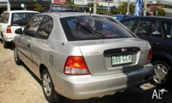 2001 Hyundai Accent LC GL Grey 4 Speed Automatic