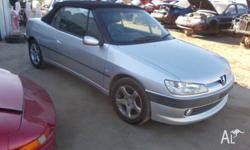 Nice neat and straight Peugeot 306 Convertible, Auto,