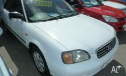 5 SPD MANUAL, AIR CONDITIONING, POWER STEERING. VERY