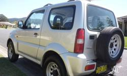 Beaut little 2001 Suzuki Jimny Manual 5 speed Low