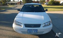 Hi, I'm selling a 2001 Toyota Camry for $2,500. Car