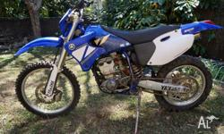 For sale is my 2001 Yamaha WR250F. I purchased the bike