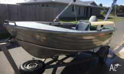 2002 Ally Craft 4.1m Rhino , this boat has it all ,