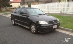 2002 Holden Astra for sale 200,000km Rego has run out.