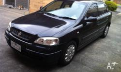 up for sale is 2002 auto holden astra Very realiable