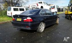 2002 manual BMW Ci now wrecking. Please call EWT AUTO