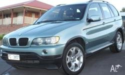Selling my 2002 BMW X5 Sports, finished in metallic