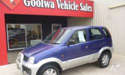****2002 DAIHATSU TERIOS ****1.3 LT 5 SPEED MANUAL,5