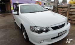 2002 FORD XR6 VERY LOW KMS 195KW CHIPPED TUNED