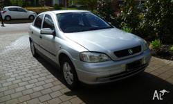 Im selling this Holden Astra 2002 model hatch This is a