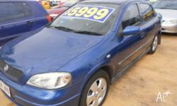 2002 Holden Astra TS CD Blue 4 Speed Automatic Sedan