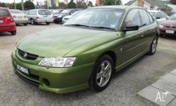 Holden VY Commodore S, 2002 model sedan, automatic