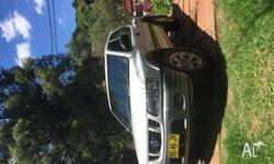 4WD Holden Frontera Cruise control, air conditioning, 5