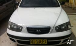 FOR SALE TODAY IS A HYUNDAI ELANTRA 2002 MODEL