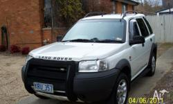2002 Land Rover Freelander ES Wagon 5dr Sports Auto 5sp