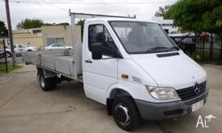 4/2002 Mercedes Benz Sprinter 413cdi LWB Cab/Chassis