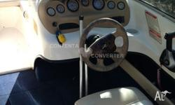 Sea Ray 180 Bowrider running 150 Hp Mercury Outboard on