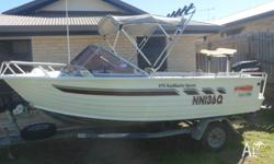 Stacer 475 Baymaster Sports - 2002 - EVO hull 2002