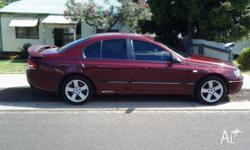 2003 auto falcon ba sedan with low kms for age. Still