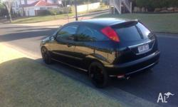 Ford focus very sporty little car, perfect running and