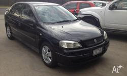 2003 Holden Astra Cd Sedan Auto LOW KMS VERY LOW KMS