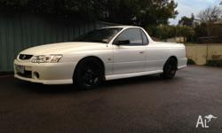 2003 Holden vy ute, rare 5 speed manual, full S pac