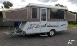 Like New 2003 Jayco Flamingo Campervan is in excellent