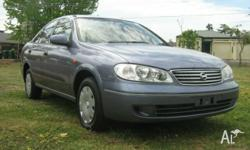 Located 10 min north of the Adelaide CBD, 2003 Nissan