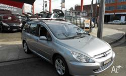 2003 Peugeot 307 HSE Touring.... Rego expiry December